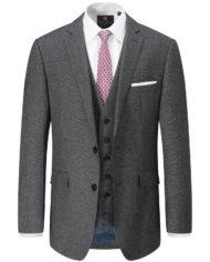 Harcourt Tailored Grey 3 Piece Suit