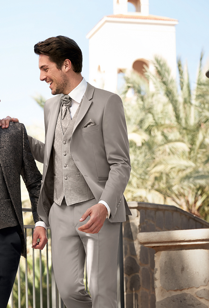 Beige Wedding Suit