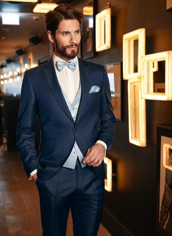 Blue Drop 8 3 Piece Wedding Suit