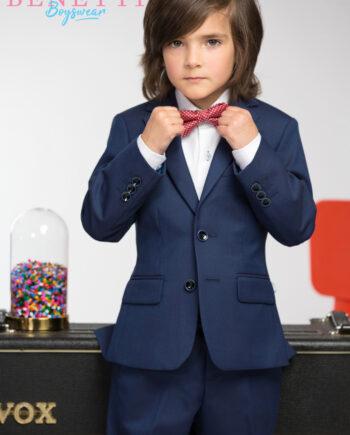 James Petrol Blue Boys Suit