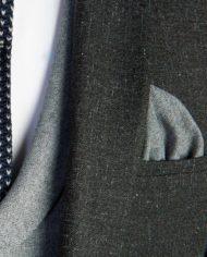 Bentley Charcoal Grey Tweed 3 Piece Suit