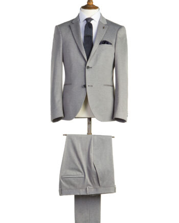 Burton Grey Tweed 2 Piece Suit