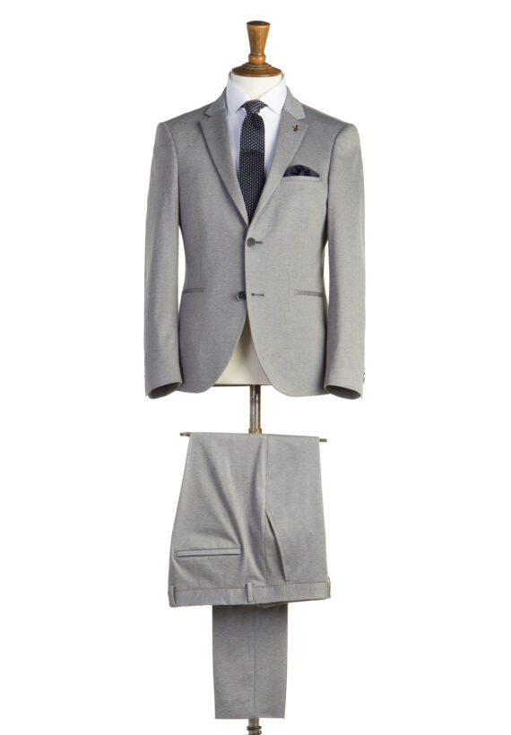Burton Grey Tweed 2 Piece Suit