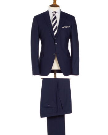 Regency Johnny Navy 3 Piece Suit