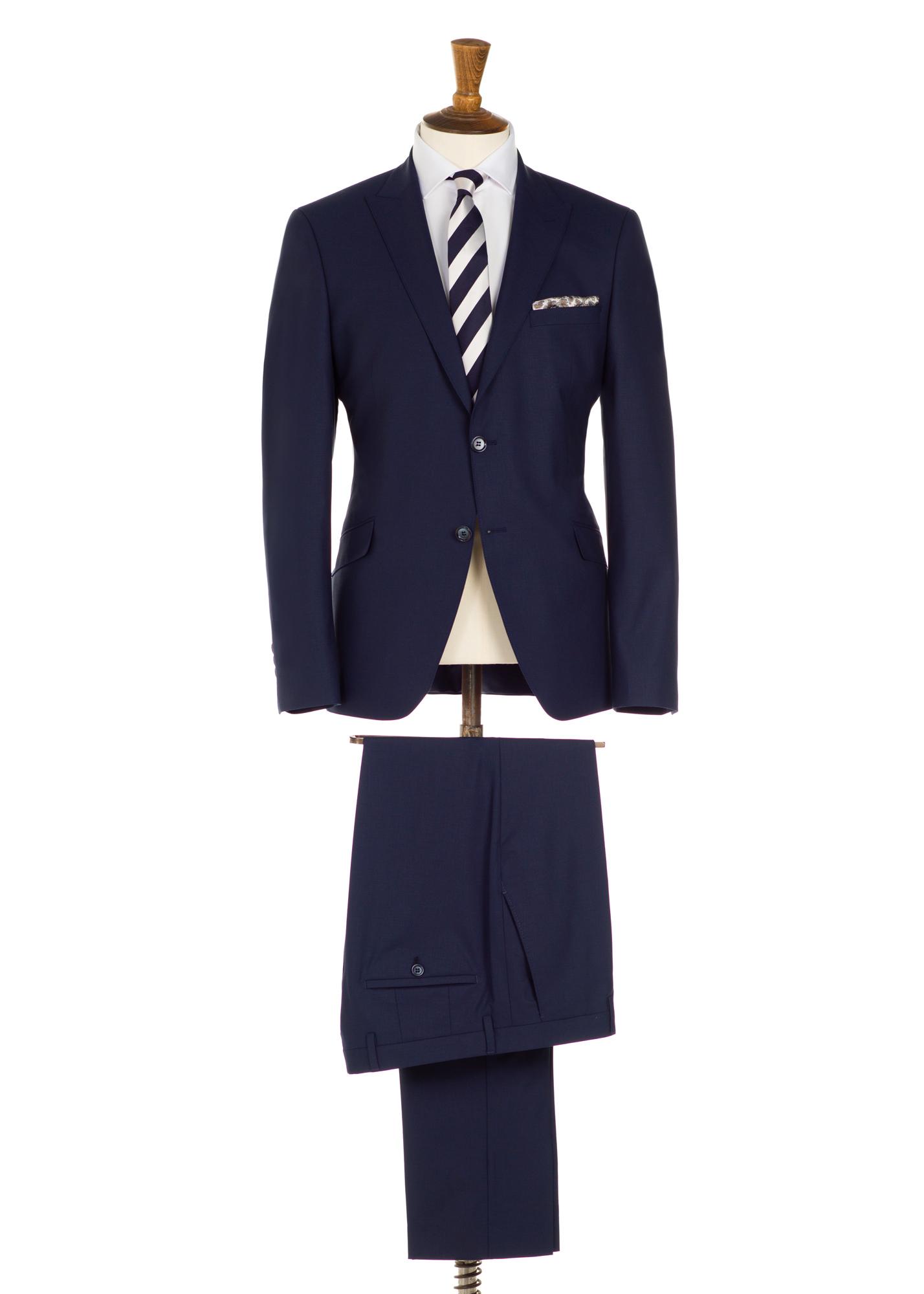 Regency Johnny Navy 3 Piece Suit