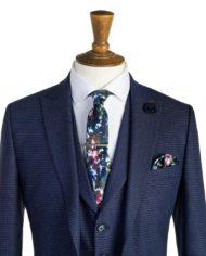 Ronnie Navy Tweed 3 Piece Suit