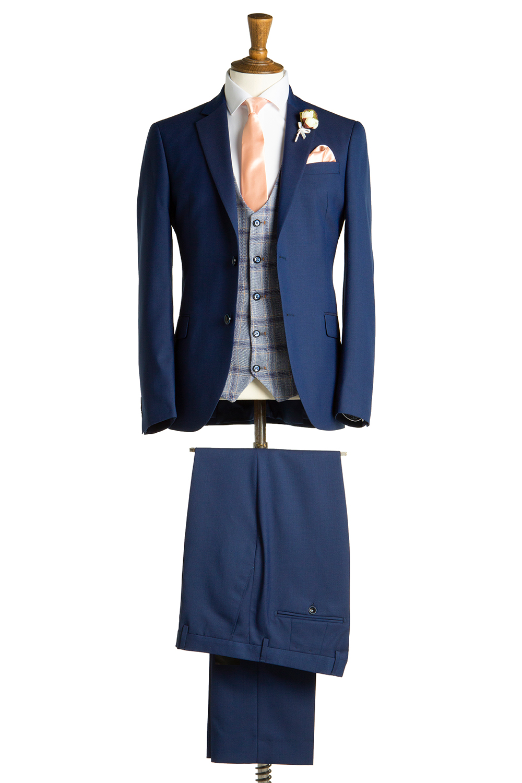 Aylward Petrol Tweed Suit