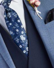 Bradley Light Blue Tweed Suit