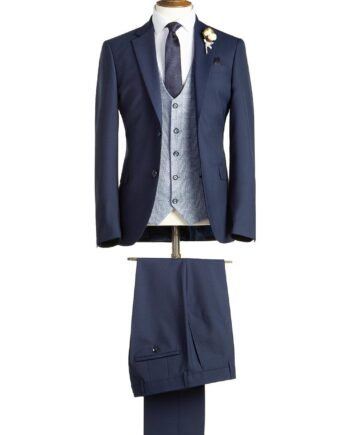 Huntley Navy Tweed Suit