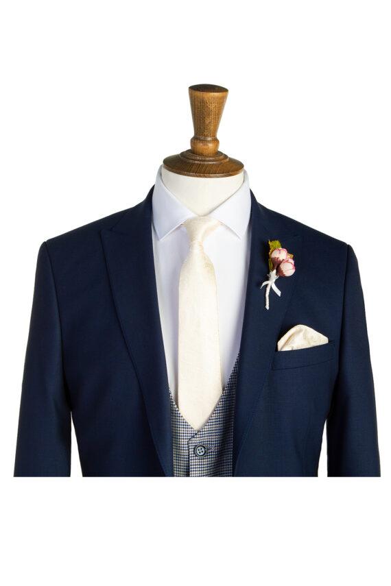 Simpson Navy Tweed Suit