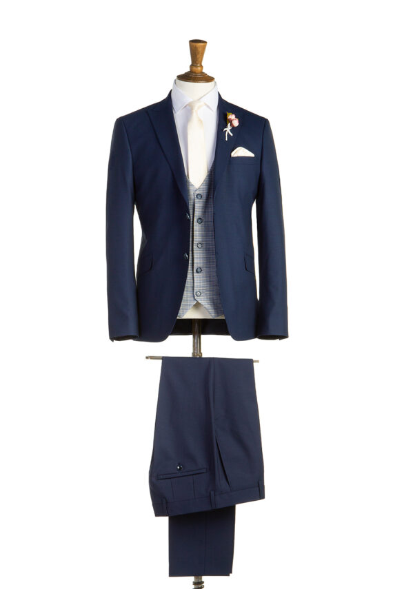 Simpson Navy Tweed Suit