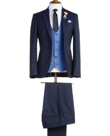 Tennyson Navy Tweed Suit