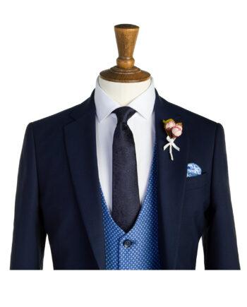 Tennyson Navy Tweed Suit