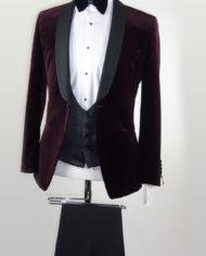 Burgundy Wedding Tuxedo