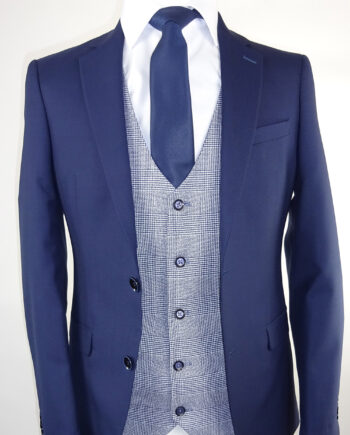 Navy Suit Marvin Waistcoat