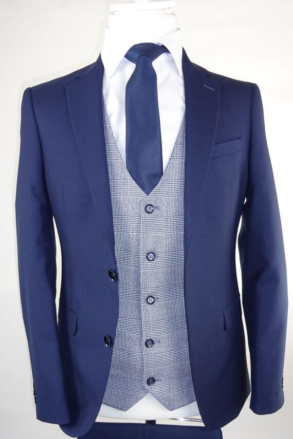 Navy Suit Marvin Waistcoat