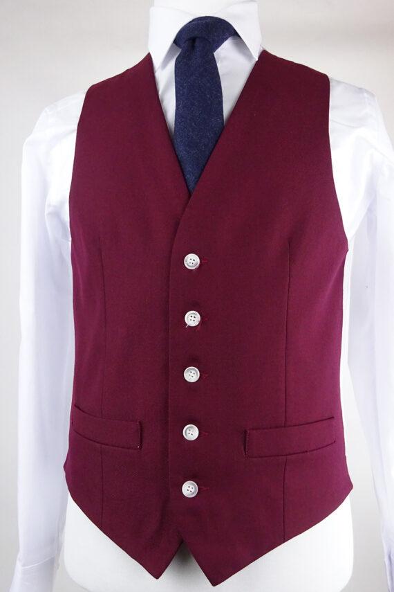 Ascott Wine Waistcoat