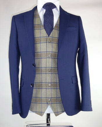 Navy Suit Haddington Waistcoat