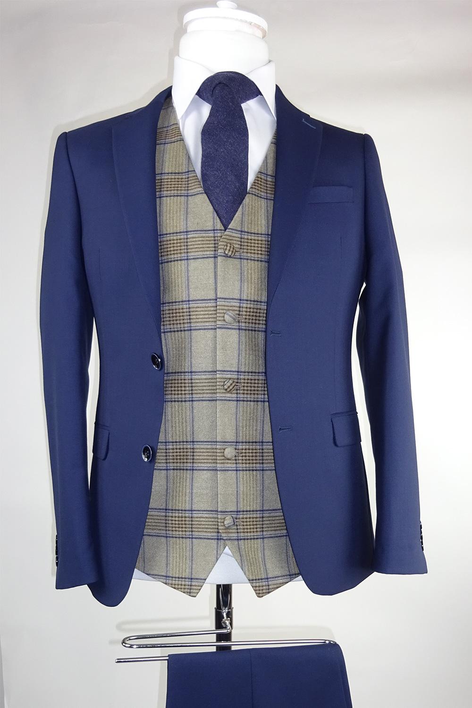 Navy Suit Haddington Waistcoat