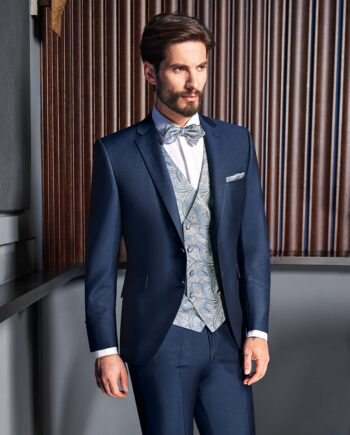Blue Royal 3 piece Wedding Suit