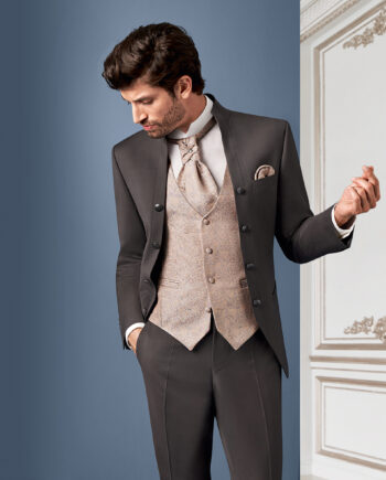 Brown Royal 3 piece Wedding Suit