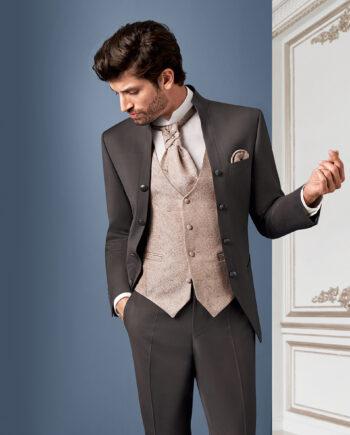 Brown Royal 3 piece Wedding Suit