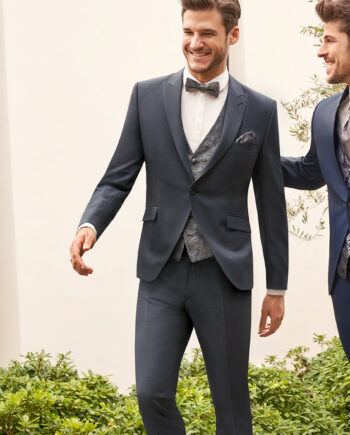 Grey 3 piece Wedding Suit