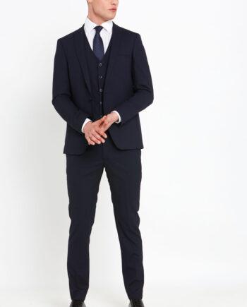 Antoine Navy 3 Piece Suit