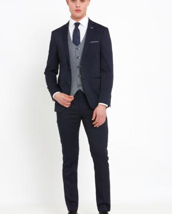 Louis Navy 3 Piece Suit
