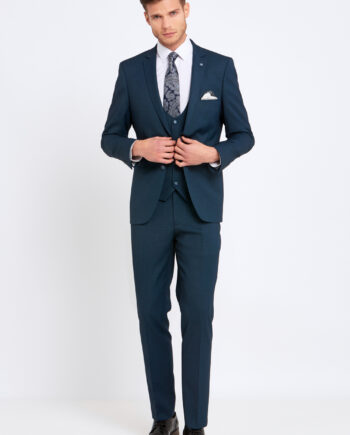 Emmet Teal 3 Piece Suit