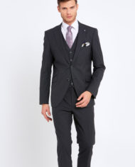 Johnny Charcoal 3 Piece Suit