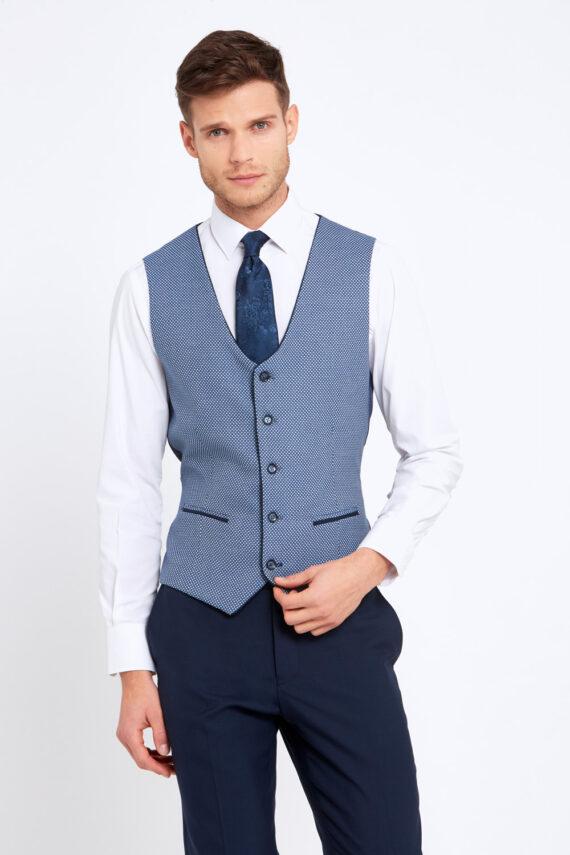 Alexander Navy 3 Piece Suit