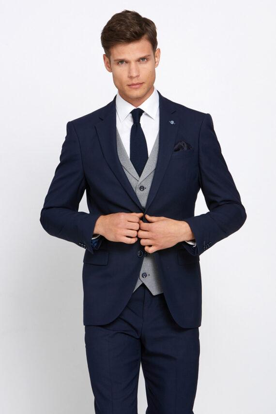 Anthony Navy 3 Piece Suit