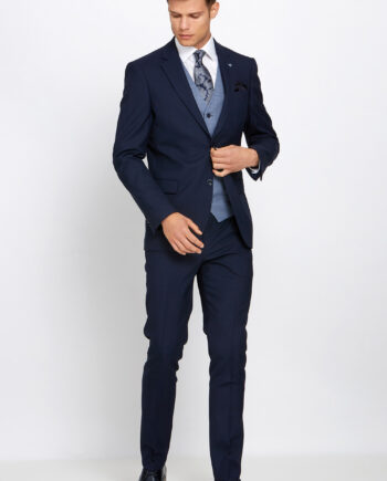 Bobby Navy 3 Piece Suit