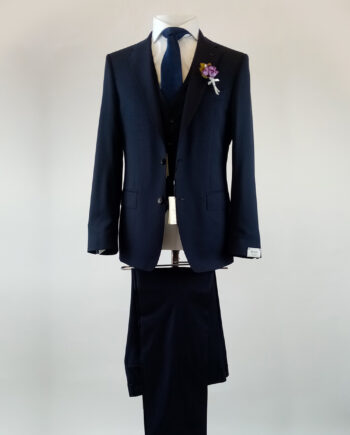 Casablanca Navy 3 Piece Suit