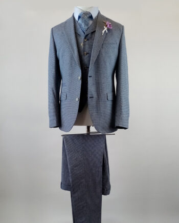 Chester Gingham Check Suit
