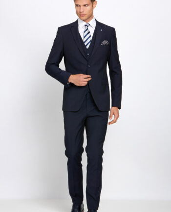 Cusack Navy 3 Piece Suit