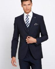 Cusack Navy 3 Piece Suit