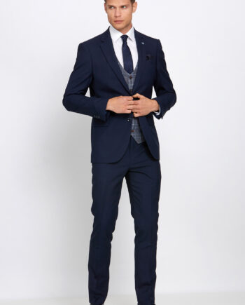 Gordon Navy 3 Piece Suit
