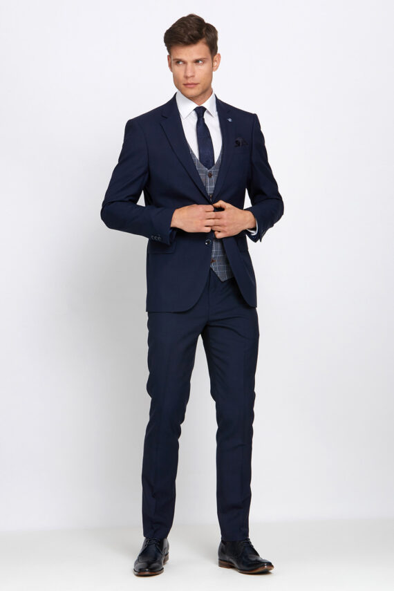 Gordon Navy 3 Piece Suit