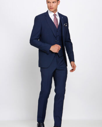 Hogan Petrol Blue 3 Piece Suit
