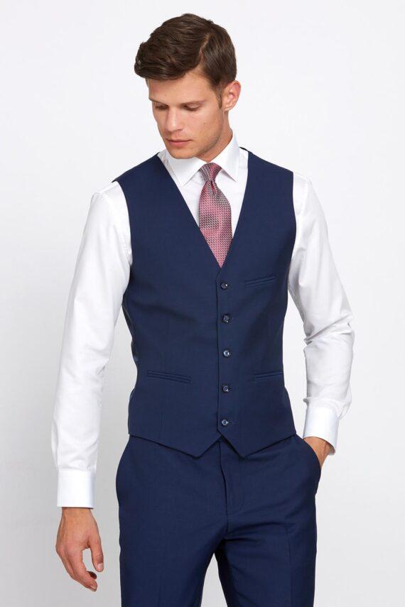 Hogan Petrol Blue 3 Piece Suit