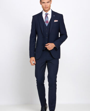 James Navy 3 Piece Suit