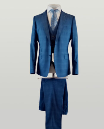 Koeman Check 3 Piece Suit