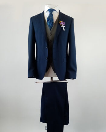 Marakesh Navy 3 Piece Suit