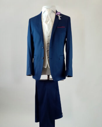 Oxford Blue 3 Piece Suit