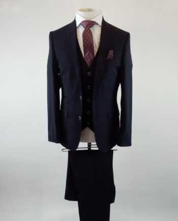 Paddington Navy 3 Piece Suit