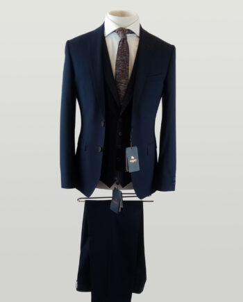 Wilson Dice Check 3 Piece Suit