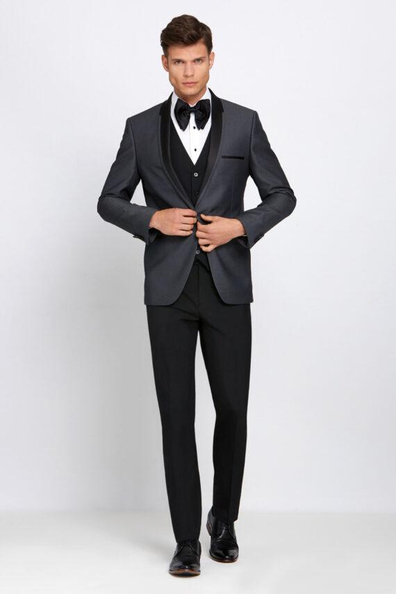 Elton Grey Tuxedo