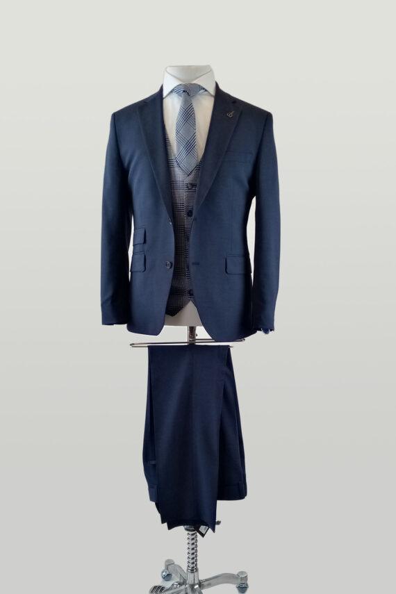 Melange Ink Suit